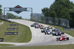 Start: Zach Veach, Belardi Auto Racing, führt