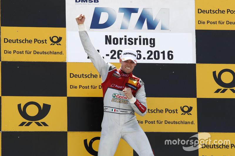 Norisring (Carrera 1): Edoardo Mortara, Audi Sport Team Abt Sportsline, Audi RS 5 DTM