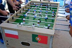 Table kick football