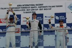 Gara 2 podio TCS, Karl Gustav Nerman, Jas Motorsport, Honda Civic-TCS2.0, Massimo Arduini, 2T Course