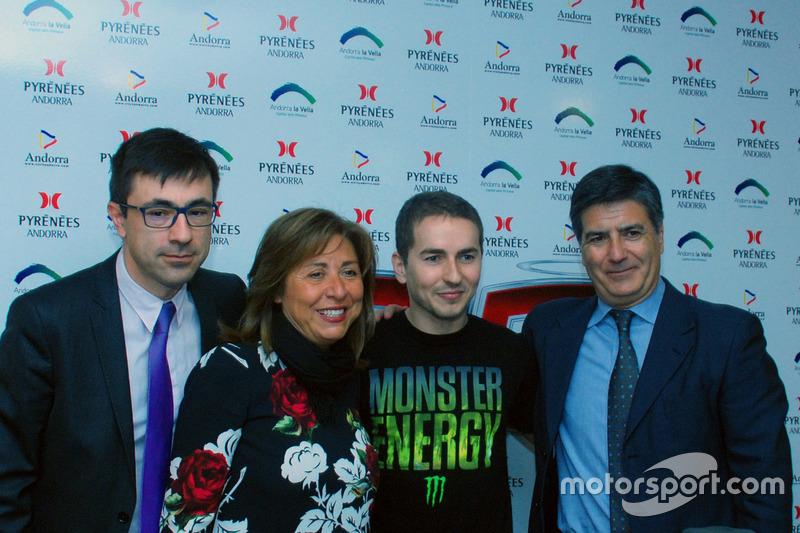 Jorge Lorenzo, Yamaha Factory Racing durante la conferencia de prensa