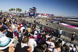 Acción en el Rallycross