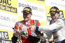 Podium: #21 AMG - Team Zakspeed, Mercedes-AMG GT3: Nikolaj Rogivue, Nicolai Sylvest
