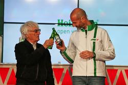 Bernie Ecclestone; Gianluca di Tondo, Marketingchef Heineken