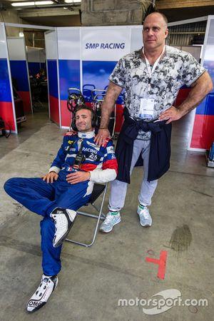 #27 SMP Racing BR01 Nissan: Nicolas Minassian and Sergey Zlobin