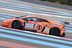 #27 Orange 1 Team Lazarus Lamborghini Huracan: Thomas Biagi, Fabrizio Crestani