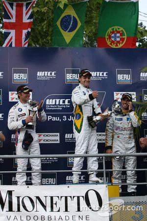 Winner Augusto Farfus, BMW Team Germany, BMW 320si