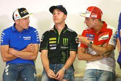 Aleix Espargaro, Team Suzuki Ecstar MotoGP, Pol Espargaro, Monster Yamaha Tech 3, Andrea Iannone, Ducati Team