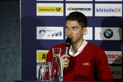 Press Conference: Edoardo Mortara, Audi Sport Team Abt Sportsline, Audi RS 5 DTM