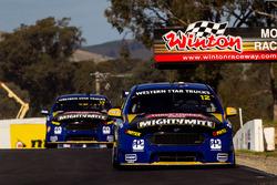 Fabian Coulthard, Team Penske, Ford und Scott Pye, Team Penske, Ford