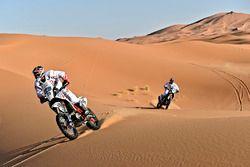 CS Santosh, Hero MotoSports Team Rally y Joaquim Rodrigues, Hero MotoSports Team Rally