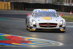 #50 Team Larbre Competition Mercedes-Benz SLS AMG GT3: Christian Philippon, Franck Labescat