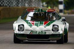 Markku Alen di 1976 Lancia Stratos