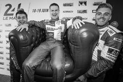 #13 Rebellion Racing Rebellion R-One AER: Matheo Tuscher, Alexandre Imperatori, Dominik Kraihamer tr