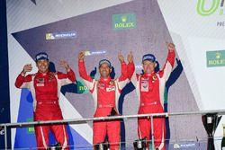2. Platz GTE-Am: Francois Perrodo, Emmanuel Collard, Rui Aguas, AF Corse