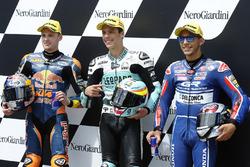 Brad Binder, Red Bull KTM Ajo, Joan Mir, Leopard Racing, Enea Bastianini, Gresini Racing Team Moto3