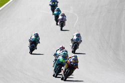 Brad Binder, Red Bull KTM Ajo, KTM; Joan Mir, Leopard Racing, KTM