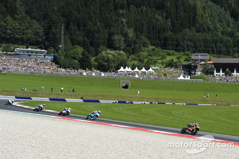 Brad Binder, Red Bull KTM Ajo, KTM leads