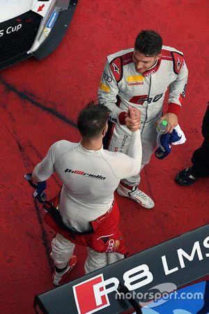 Winner Edoardo Mortara, Phoenix Racing Asia, second place Alessio Picariello, MGT Team