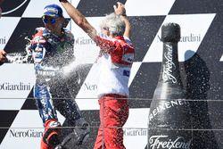 Gigi Dall'Igna, Geschäftsführer Ducati, Jorge Lorenzo, Yamaha Factory Racing