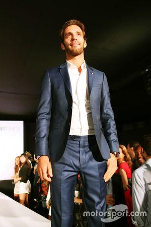 Jean-Eric Vergne, Ferrari piloto de prueba y desarrollo en el Amber Lounge Fashion Show.