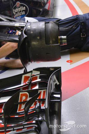 Scuderia Toro Rosso STR11, frenos