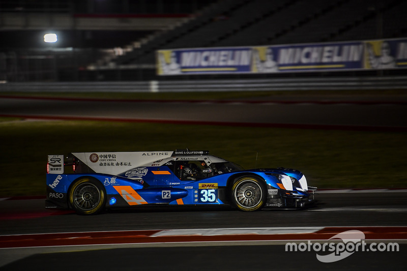 8. LMP2: #35 Baxi DC Racing, Alpine A460 - Nissan: David Cheng, Ho-Pin Tung, Nelson Panciatici