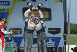 GTD Podio: tercer lugar John Potter, Andy Lally, Magnus Racing