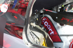 #7 Audi Sport Team Joest Audi R18: Marcel Fässler, Andre Lotterer, Benoit Tréluyer car detail