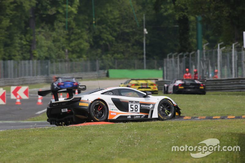 Роб Белл, Шейн ван Гисберге, Коме Ледогар, #58 Garage 59, McLaren 650 S GT3