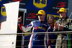 Podium: 2. Mark Winterbottom, Prodrive Racing Australia Ford, 3. Scott Pye, Team Penske Ford