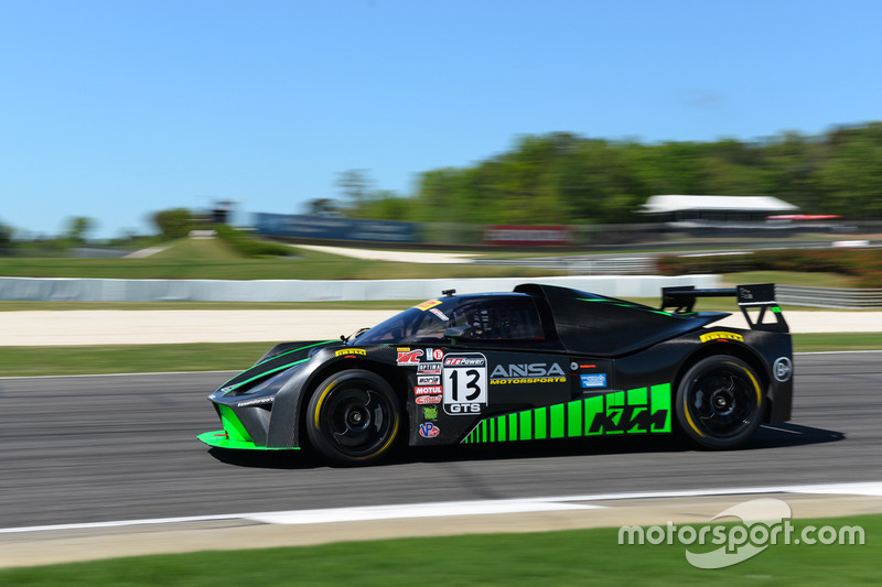 #13 ANSA Motorsports, KTM XBow GT4: Brett Sandberg