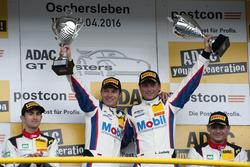 Race winner, #1 AMG - Team Zakspeed Mercedes-AMG GT3: Luca Ludwig, Sebastian Asch