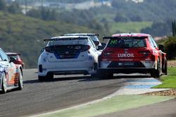 Pepe Oriola, Team Craft-Bamboo, Seat León TCR; Aku Pellinen, West Coast Racing, Honda Civic TCR