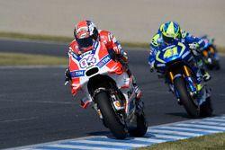 Andrea Dovizioso, Ducati Team, Aleix Espargaro, Team Suzuki Ecstar MotoGP