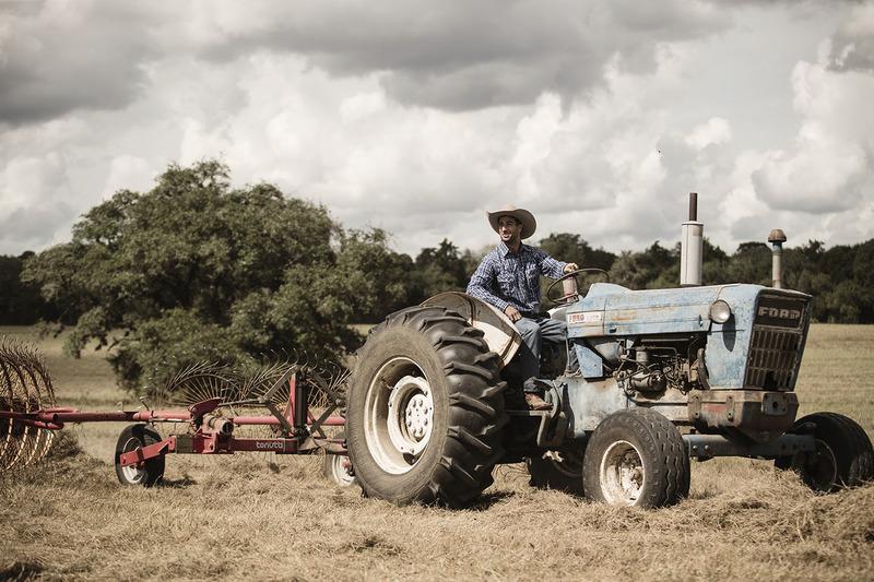 24: Перед Гран Прі США. Даніель Ріккардо, Red Bull Racing, працює на фермі в Остіні