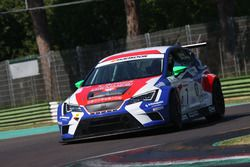 Romy Dall'Antonia e Samuele Piccin, BF Racing, Seat Leon Racer-TCR