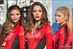 Belle ragazze al Rally di Roma Capitale