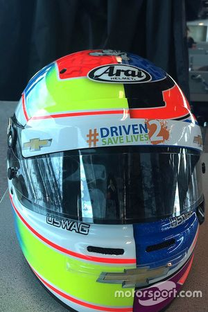 Stefan Wilson, Indy 500 helmet