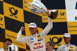 Podium: le vainqueur Marco Wittmann, BMW Team RMG, BMW M4 DTM