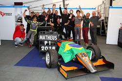 2016 Champion Matheus Leist, Double R Racing