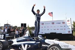 Il vincitore della gara Kyle Kaiser, Juncos Racing