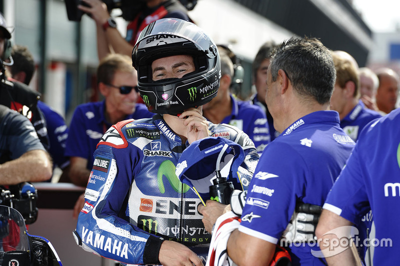 Polesitter Jorge Lorenzo, Yamaha Factory Racing