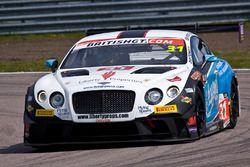 #31 Team Parker Racing Bentley Continental GT3: Rick Parfitt, Seb Morris