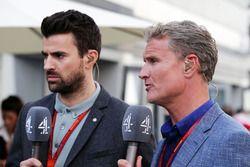 Steve Jones. Channel 4 F1 presentator en David Coulthard, Red Bull Racing en Scuderia Toro adviseur
