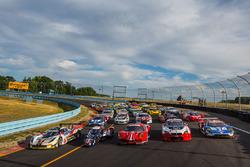 Gruppenfoto: Die Autos für die 6 Stunden von Watkins Glen 2016
