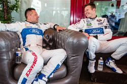 Ford Chip Ganassi Racing Ford GT: Andy Priaulx and Ryan Briscoe