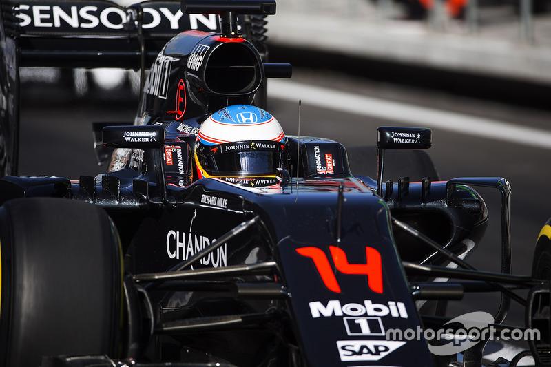 13e - Fernando Alonso (McLaren-Honda)
