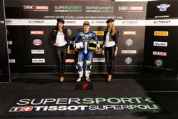Pole position de Luke Stapleford, Profile Racing, Triumph Daytona 675
