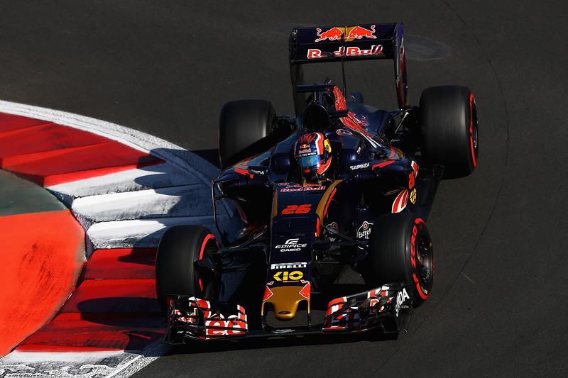 2016 год. За рулем болида Toro Rosso STR11 в квалификации